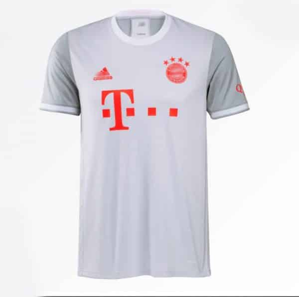 camiseta bayer munich 2021 gris barata