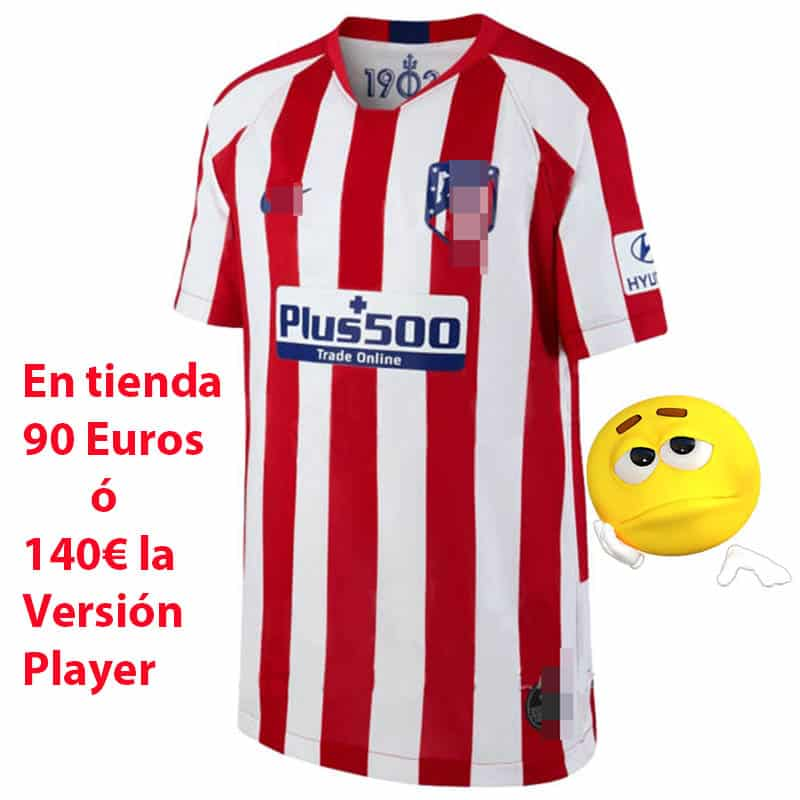 camiseta atletico de madrid 2019-2020