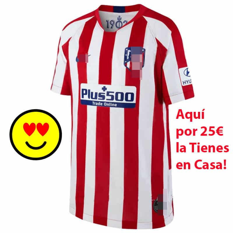camiseta atletico de madrid 2020