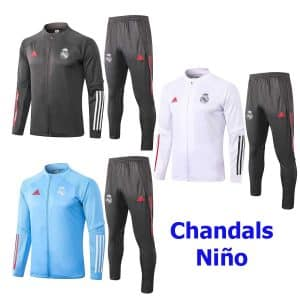 chandal real madrid niño 2021