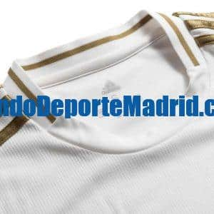 camiseta real madrid 2020 detalle