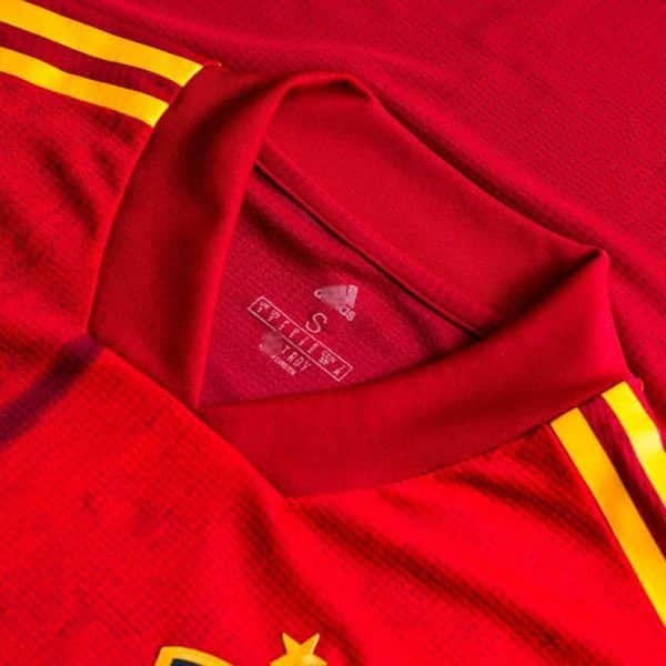 camiseta españa version player 2020 replica