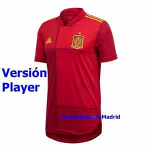 camiseta españa 2020 version player