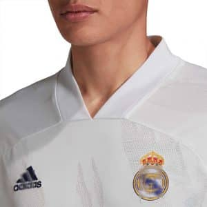 camiseta real madrid 2021 detalle
