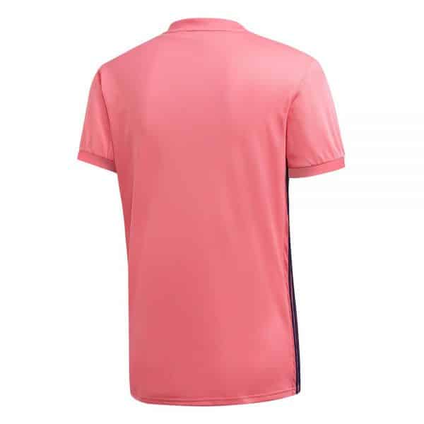 camiseta 2 equipacion real madrid 2021 rosa