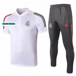 polo real madrid blanco pantalon negro barato 2021 replica