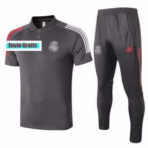 polo real madrid negro pantalon negro barato 2021 replica