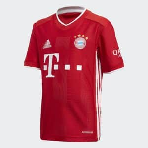 camiseta bayer munich niño roja 2021